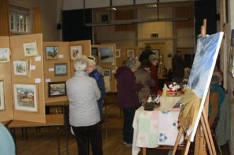 Art Club Exhibition 2015 - 01