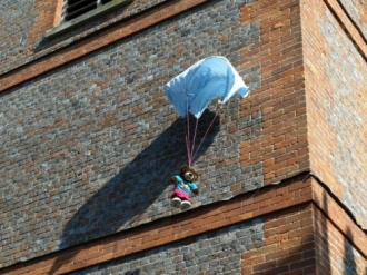 Opening of Church Extension and Teddy Bear Parachute Drop - 12