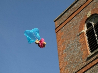 Opening of Church Extension and Teddy Bear Parachute Drop - 13