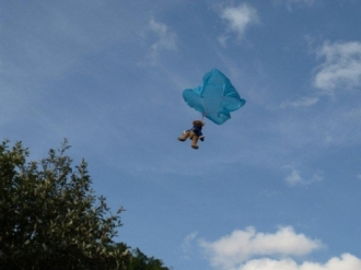Opening of Church Extension and Teddy Bear Parachute Drop - 19