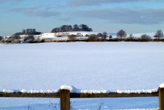 Village in the Snow - 01