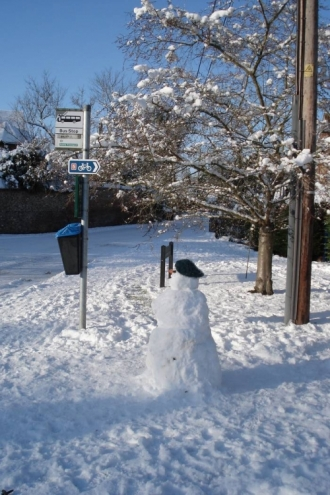 Village in the Snow - 06