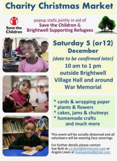 BSR and Save the Children Charity Market dates